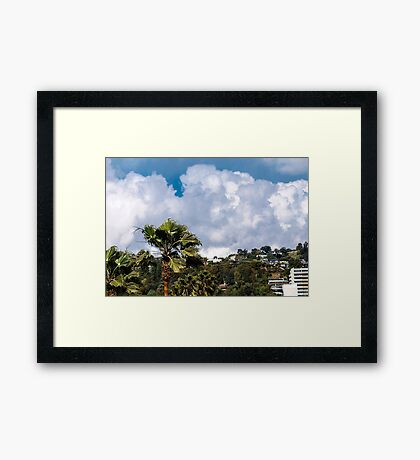 VIEW FROM MY ROOFTOP 2 Framed Print
