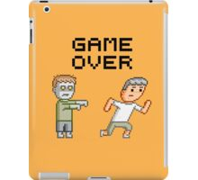Game Over Zombies Dead Pixel iPad Case/Skin
