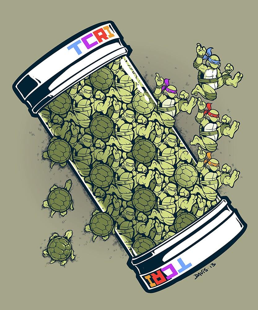 Turtle Tessellation by Nathan Davis
