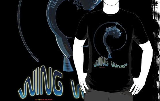RAN Iroquois Helicopter Wing Warp T-shirt Design by muz2142