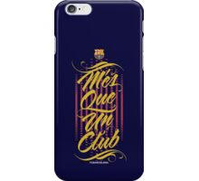 Barcelona Typography iPhone Case/Skin