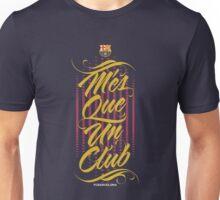 Barcelona Typography Unisex T-Shirt