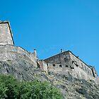 Edinburgh Castle, Scotland by Junec