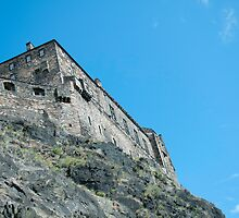 Edinburgh Castle by Junec