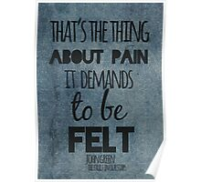 Thing About Pain Poster