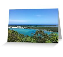 Entering Lakes Entrance Greeting Card