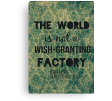 Wish-Granting Factory Canvas Print