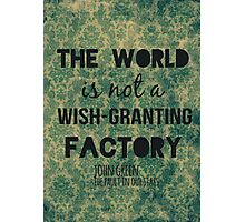 Wish-Granting Factory Photographic Print
