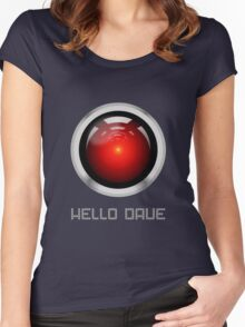 HELLO DAVE Women's Fitted Scoop T-Shirt