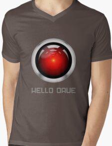 HELLO DAVE Mens V-Neck T-Shirt