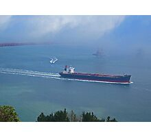 Tanker Out The Gate Photographic Print