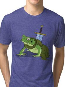 Ribbit in Time Tri-blend T-Shirt