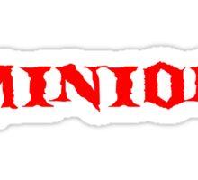 """Minion"" T-Shirt Sticker"