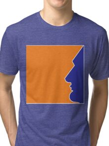 Abstract Man Tri-blend T-Shirt
