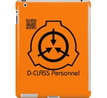D-Class Items for D-Class people. iPad Case/Skin
