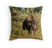 Moose tongue Throw Pillow