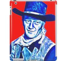 John Wayne in Red River iPad Case/Skin