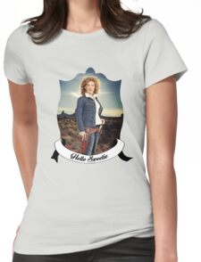 Hello Sweetieeee... Womens Fitted T-Shirt