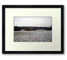 Country Fields: Winter #1 Framed Print