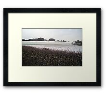 Country Fields: Winter #2 Framed Print