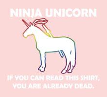 Ninja Unicorn. One Piece - Long Sleeve