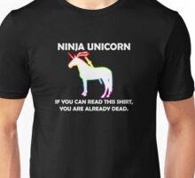 Ninja Unicorn. Unisex T-Shirt