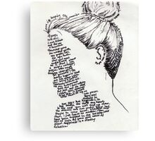 Made of Words Canvas Print
