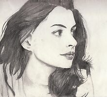 Anne Hathaway by marissamint