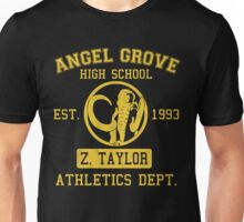 Angel Grove H.S. (Black Ranger Edition) Unisex T-Shirt