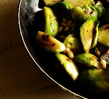 Sauteed Brussles Sprouts by David Mellor