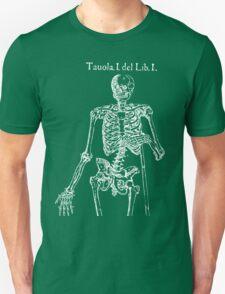 White Skeleton Anatomy T-Shirt