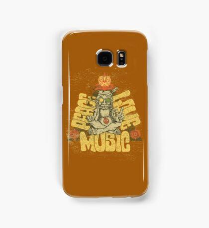 Peace, Love, Music Samsung Galaxy Case/Skin