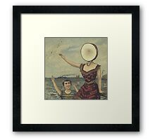 In an aeroplane over the sea Framed Print