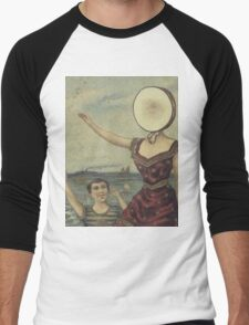 In The Aeroplane Over The Sea Men's Baseball ¾ T-Shirt