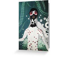 OctoBoy Underwater Greeting Card