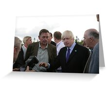 Boris Johnson at the National Paralympic Day Greeting Card