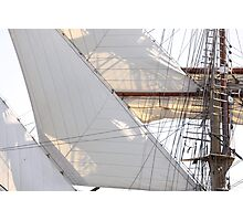 Diagonsails III Photographic Print