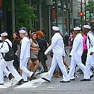 sailors on the town  by Danny  Daly