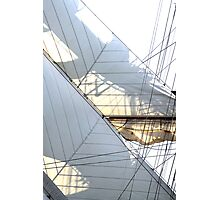Diagonsails II Photographic Print