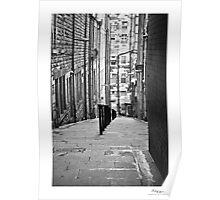 narrow street Poster