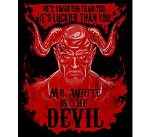 Mr. White is the Devil Photographic Print