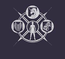 Shingeki no Kyojin: Choose Your Faction Unisex T-Shirt