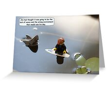 Bad Day Greeting Card