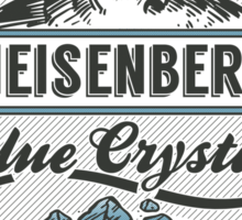 Blue Crystals Remedy Sticker