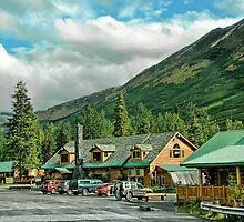 Summit Lake Lodge by Dyle Warren