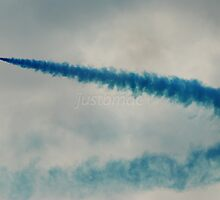Red Arrows: Paint it Blue by justbmac