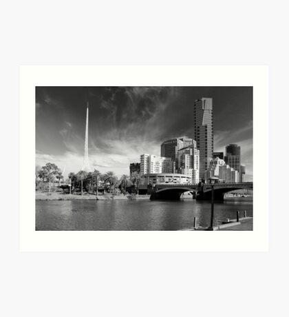 Melbourne's Twin Towers Art Print