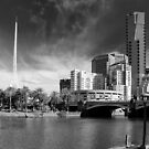 Melbourne's Twin Towers by Norman Repacholi