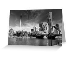 Melbourne's Twin Towers Greeting Card