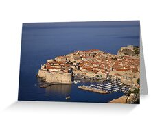 Wonderful Dubrovnik Greeting Card